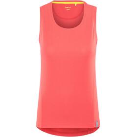 Meru Wembley Naiset Hihaton paita , punainen